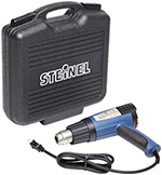 34851 STEINEL HL2010E Heat Gun in Case SE# 645256 LOT# ST63