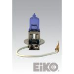 01007-BLUE EIKO 12V 55W - H3 - BLUE/T3-1/2 PK22S BASE SE# 688607 LOT# ST66